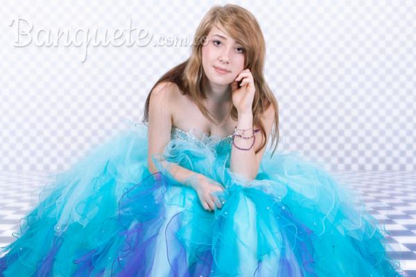 Los colores favoritos para el vestido de una quinceañera