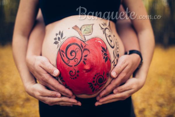 Celebra tu embarazo con belly painting